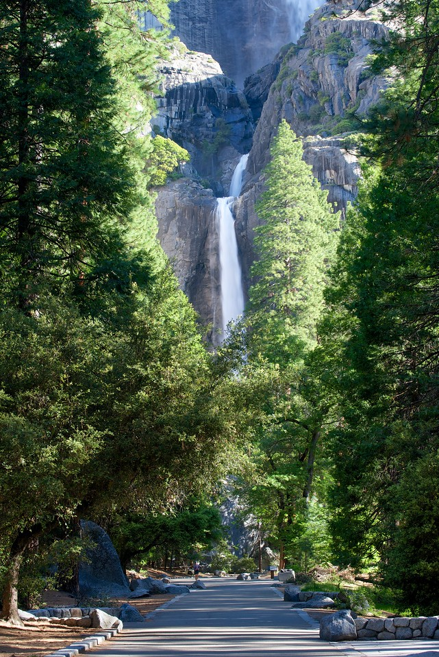 Lower Yosemite Falls, Yosemite National Park