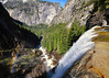 Vernal Falls, Mist Trail, Merced River, Yosemite National Park