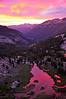 Lyell Canyon Sunset, Yosemite National Park
