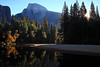 Half Dome Refection along the Merced