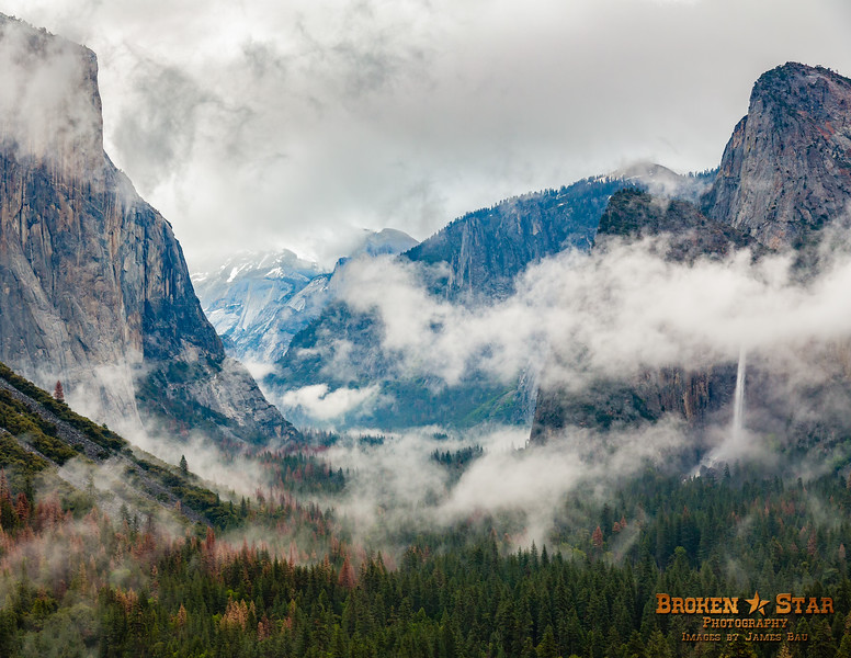 Stormy Tunnel View