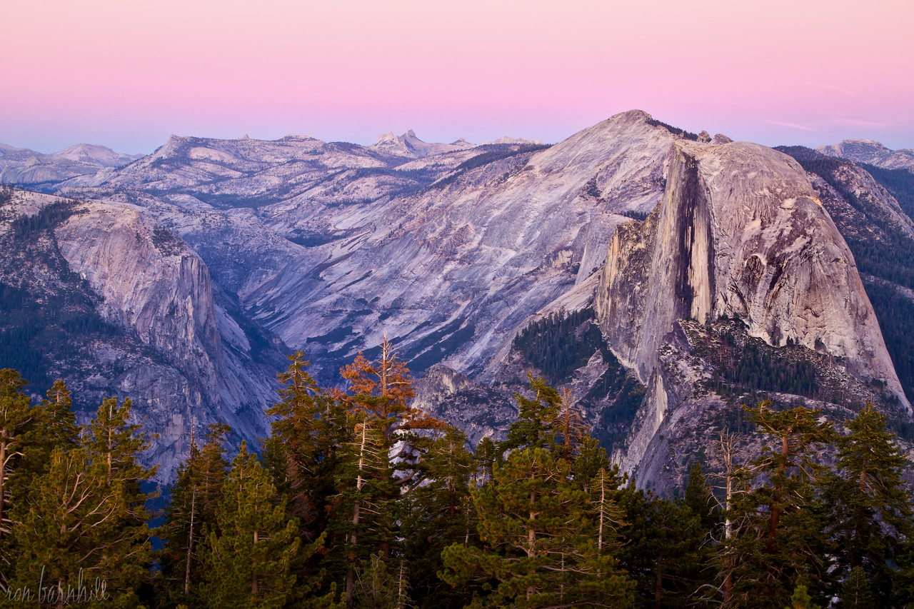 Half Dome Before Dusk
