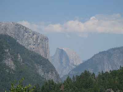 El Capitan and the Half Dome