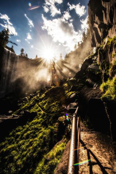 Vernal Falls & Sunstar
