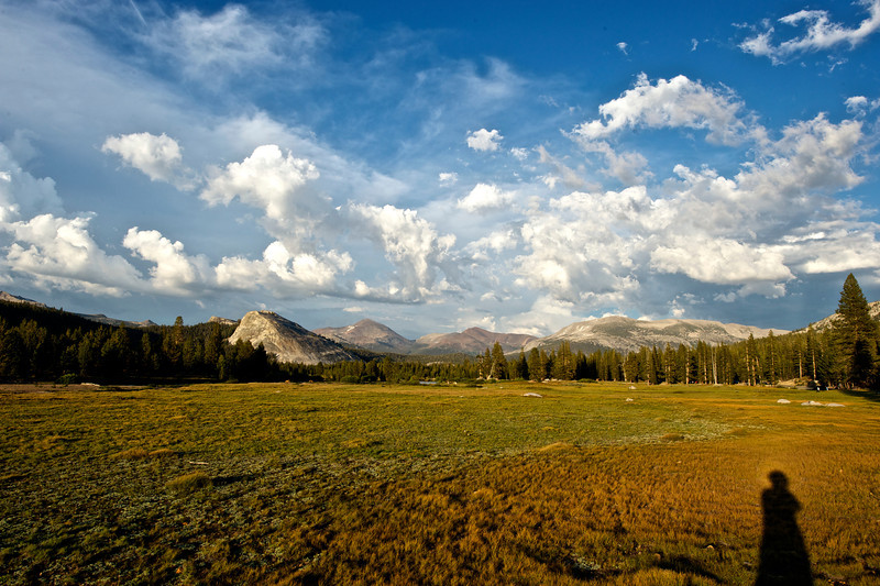 sunset over Tuolumne Meadows, Yosemite