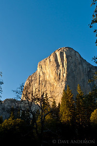 Scouting locations in Yosemite, the idea being to gain familiarity with the park, times of day to get certain shots, etc.  This is El Capitan.