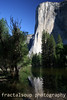 El Capitan Reflecting in the Merced River