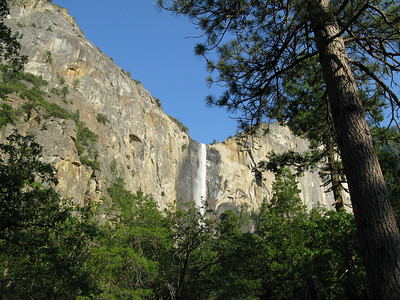 Falls from Yosemite Valley