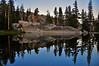 Pond near Miller Lake, above Matterhorn Canyon, Pacific Crest Trail, northern Yosemite National Park.