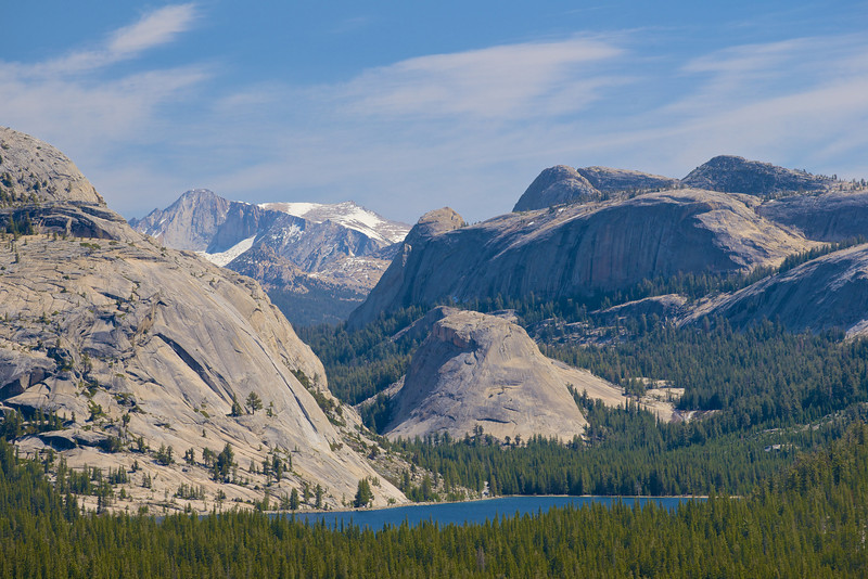 Tenaya Lake, Pywiac Dome, Mt. Conness, Yosemite National Park