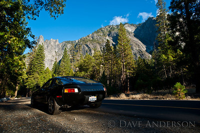 Scouting locations in Yosemite, the idea being to gain familiarity with the park, times of day to get certain shots, etc.