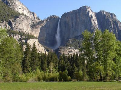 Upper Yosemite Falls 11x14