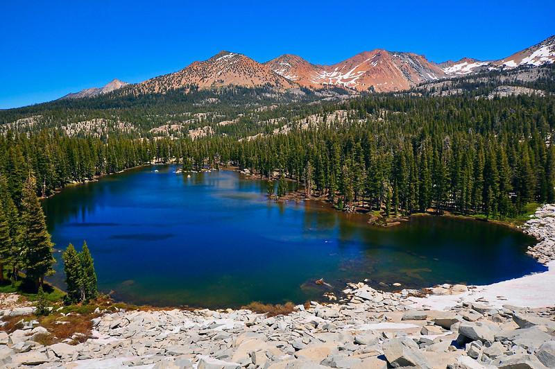Lower Merced Pass Lake, Clark Range, Red Peak Pass, Yosemite National Park.