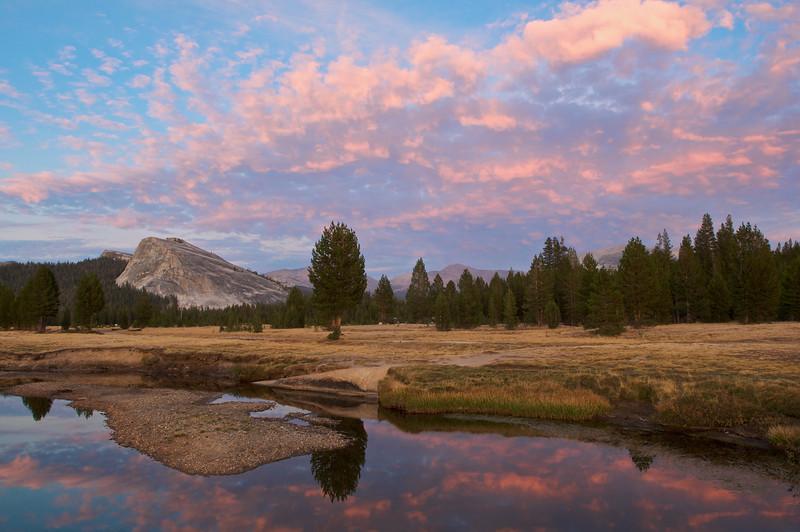 Sunset, Lambert Dome, Tuolumne Meadows, Yosemite National Park