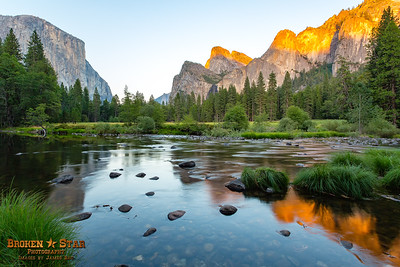Sunset at Valley View, Yosemite National Park
