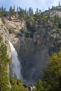 Falls between El Portal and West Yosemite entrance on 140.
