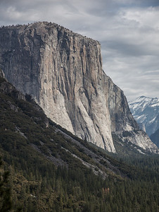 El Capitan from Tunnel View
