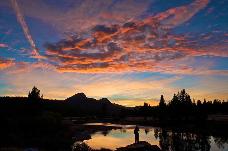 Sunset, Tuolumne Meadows, Yosemite National Park