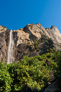 Scouting locations in Yosemite, the idea being to gain familiarity with the park, times of day to get certain shots, etc.  This is Bridal Veil Falls.