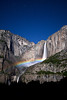 Moonbow at Upper Yosemite Fall.