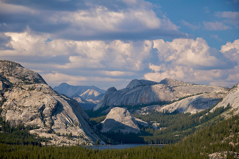 Tenaya Lake, Polly Dome, Pywiack Dome, Mt. Conness, Yosemite National Park