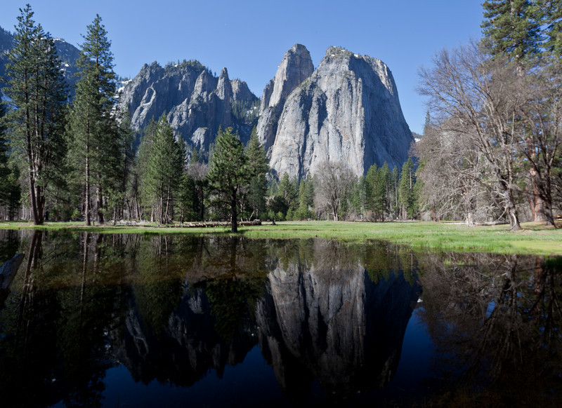 Cathedral Spires & El Capitan Meadow
