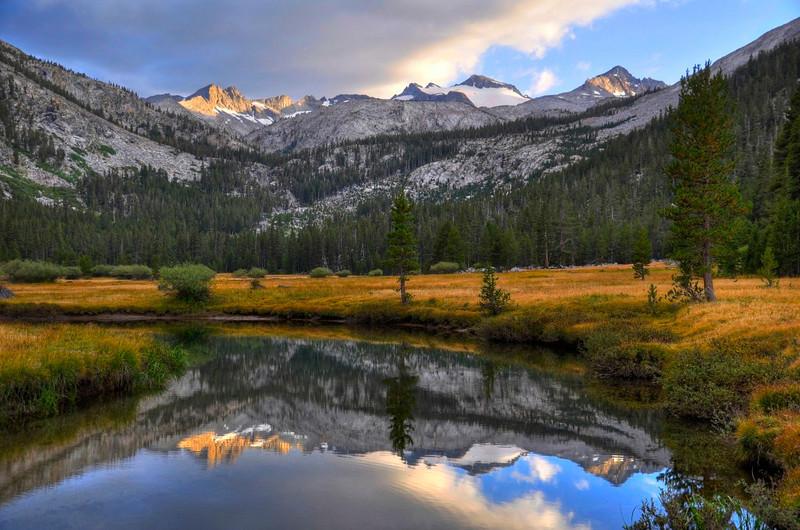Tuolumne River, Lyell Canyon, Yosemite National Park, US