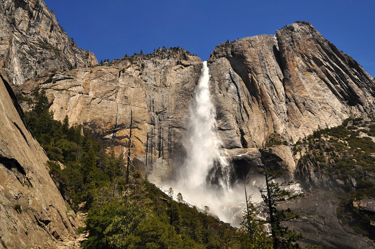Upper Yosemite Falls, Yosemite Point, Yosemite National Park