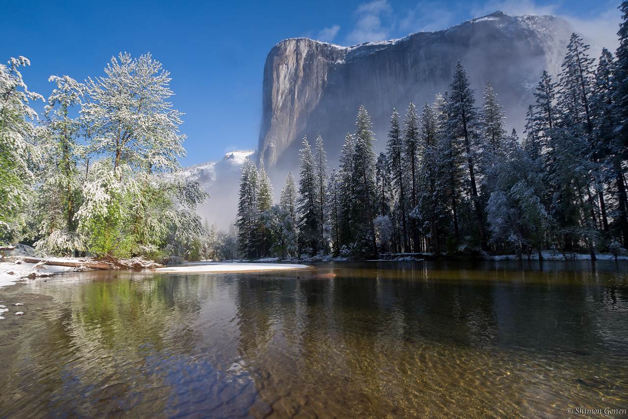 Cathedral Beach - Yosemite