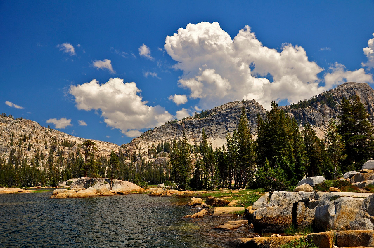 Pacific Crest Trail, Smedberg Lake, Yosemite