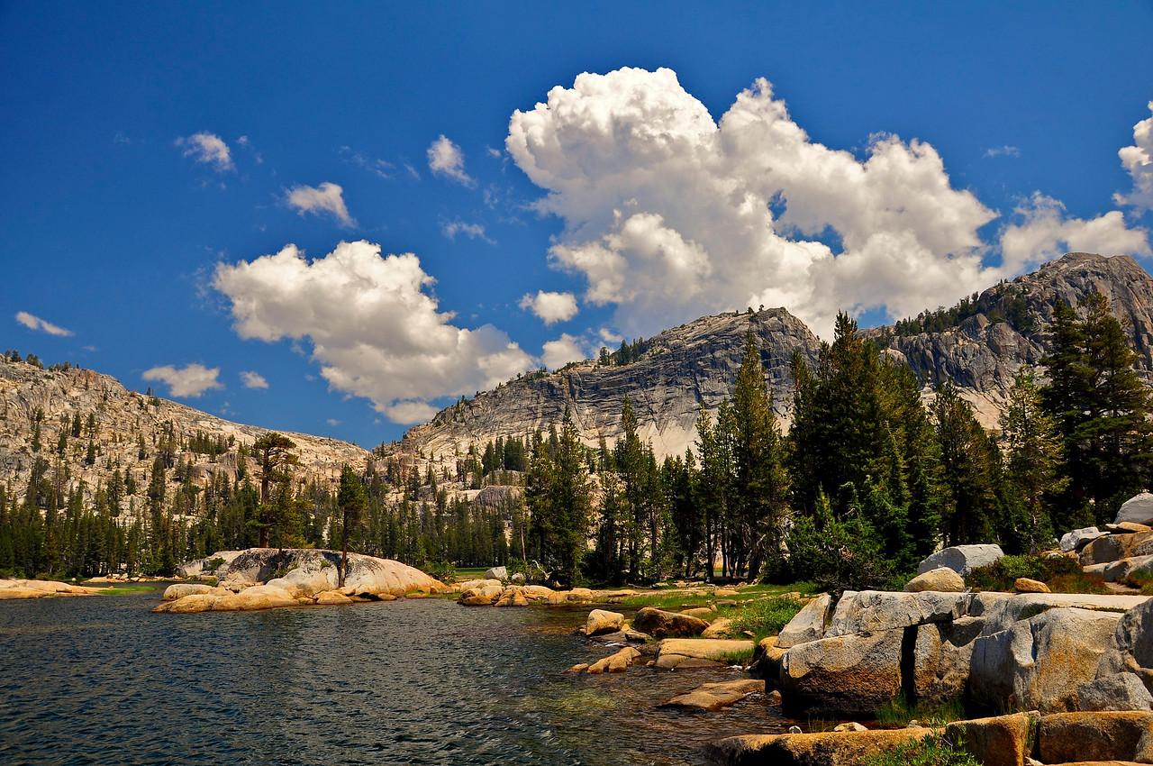 Pacific Crest Trail, Smedberg Lake, Yosemite