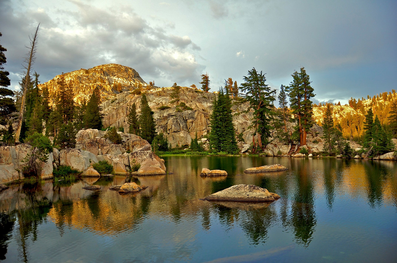 Sparkle Pond, Seavey Pass, Yosemite National Park