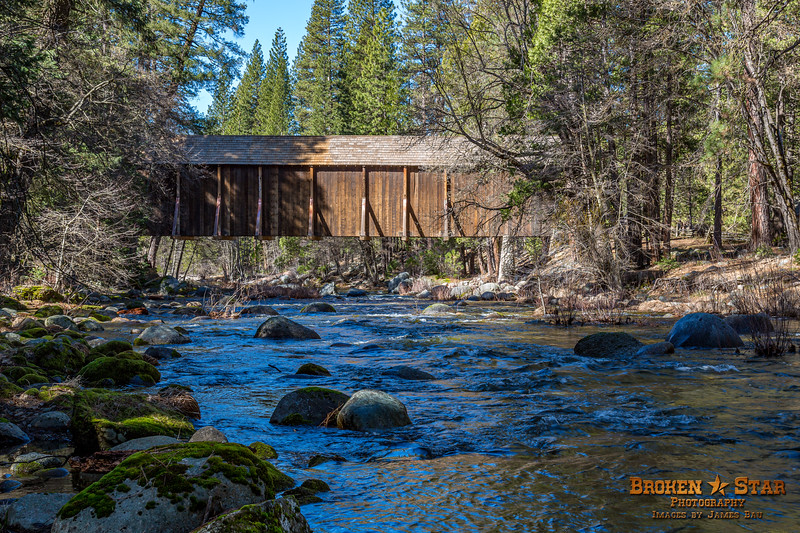 Wawona Covered Broidge over the Merced River