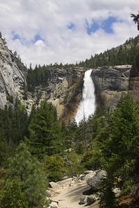 Nevada Falls from John Muir trail
