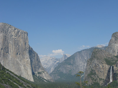 Yosemite Valley - El Capitan, Half Dome, Bridal Veil Falls