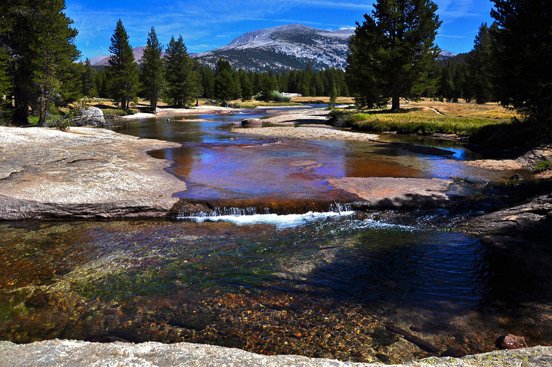 Twin Bridges area, Lyell Fork, Yosemite National Park, US