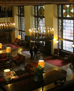 Step back in time. Ahwahnee  lobby. existing light