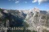 Half Dome Majestically above Yosemite Valley