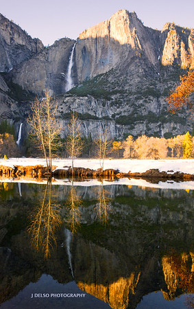 Yosemite-Upper and Lower Falls-1