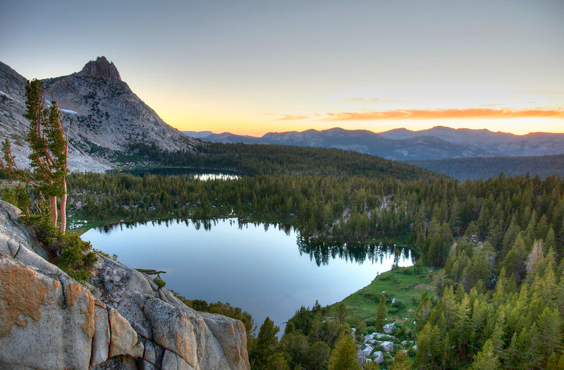 Ragged Peak, Young Lakes, Yosemite National Park