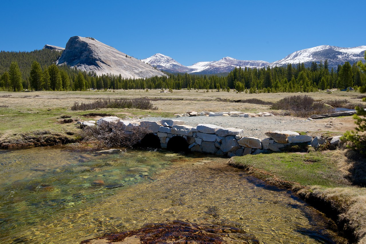 Unicorn Creek, Tuolumne Meadows, Yosemite National Park