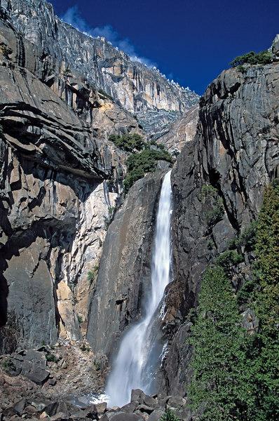 Lower Yosemite Falls, Yosemite National Park California