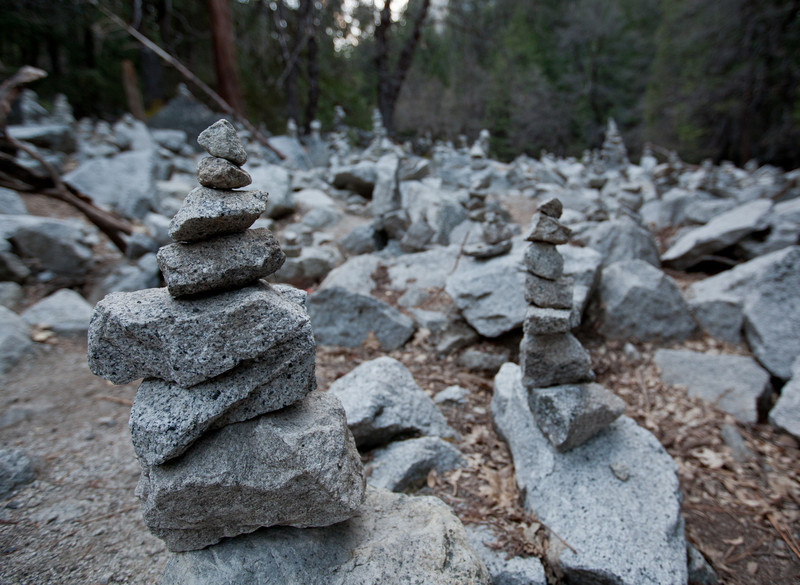 Rock Altars at Mirror Lake