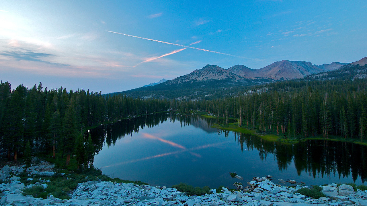 Lower Merced Pass Lake, Yosemite National Park