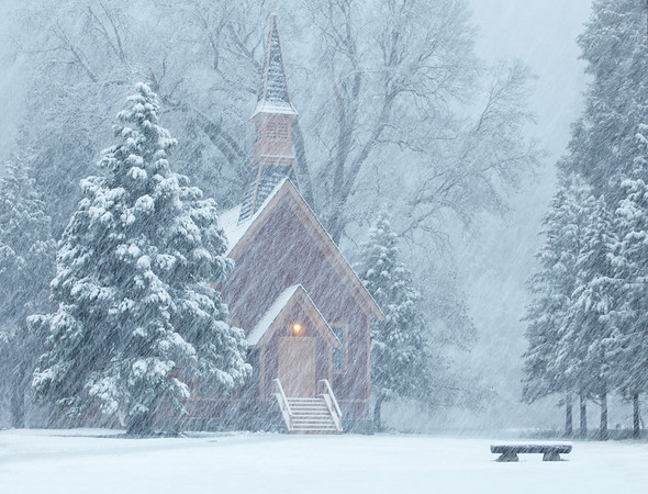 The Chapel and Snow