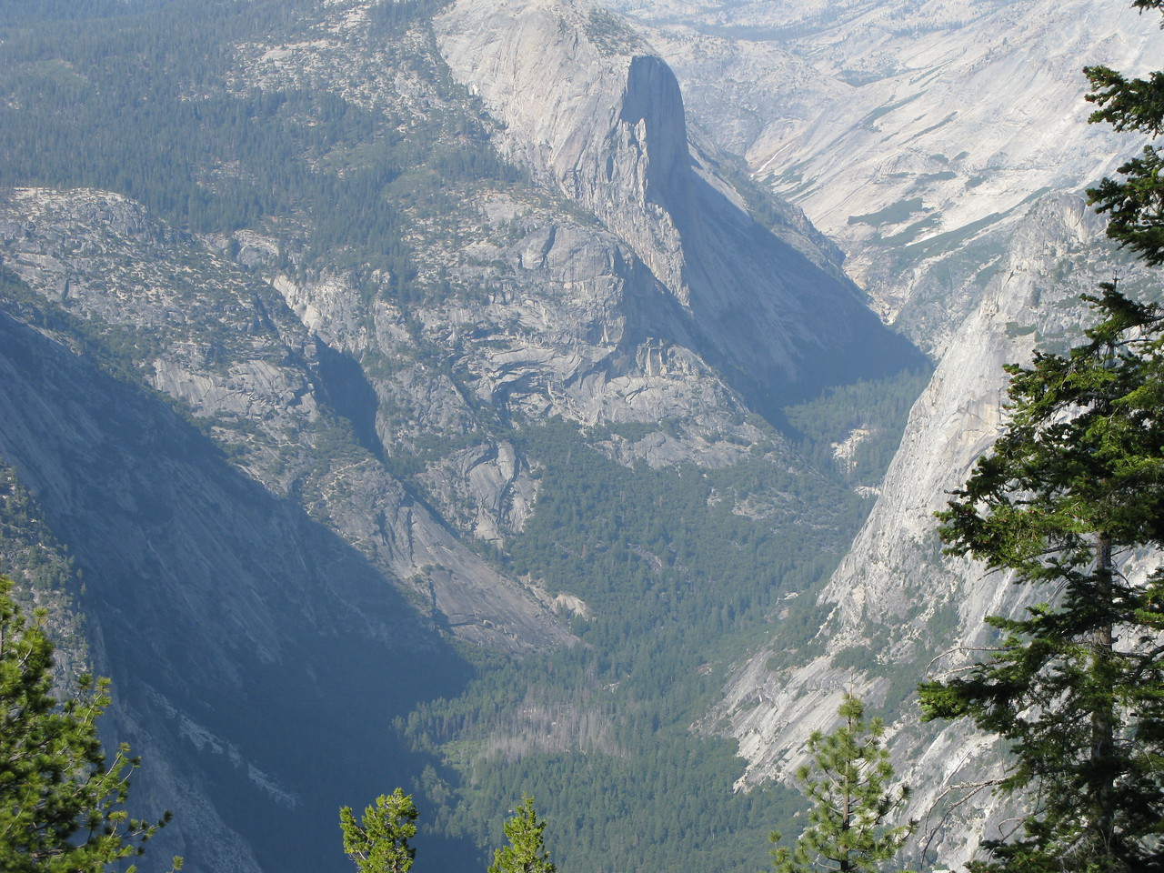 Below the Half Dome