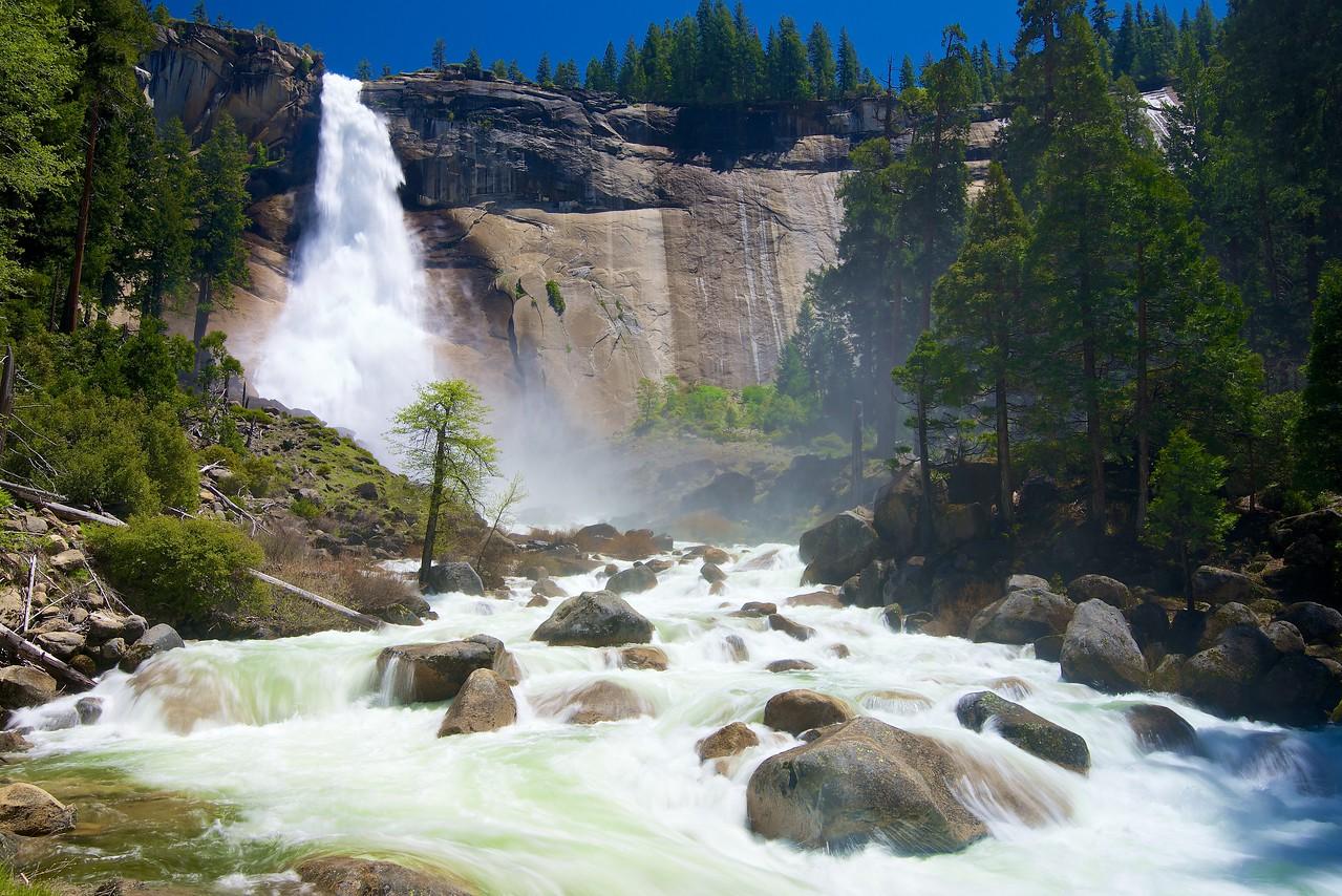 Nevada Falls, Merced River, Yosemite National Park