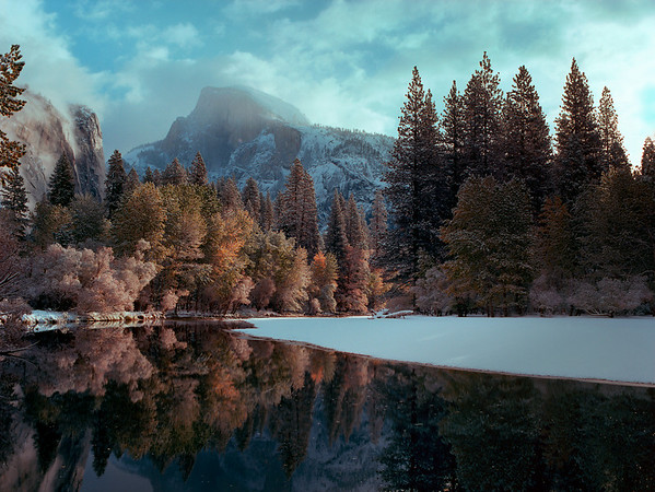 Half Dome, Late Fall Reflections, Film