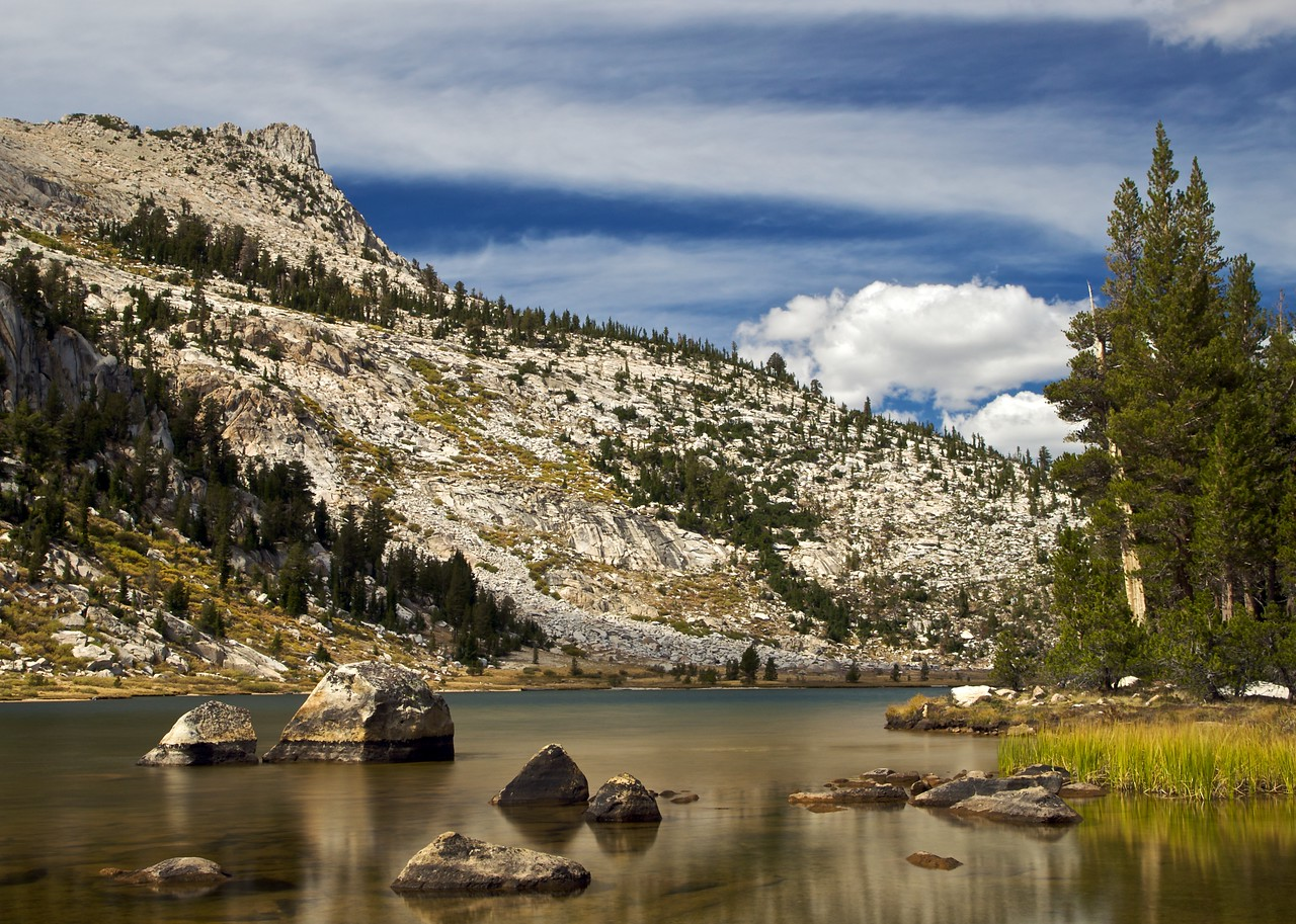 Elizabeth Lake, Unicorn Peak, Yosemite National Park