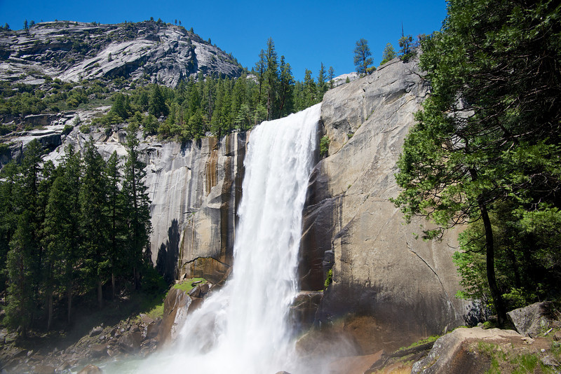 Vernal Falls, Merced River, Yosemite National Park